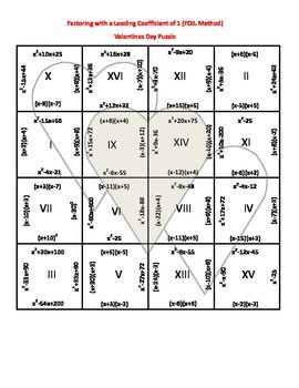 107 best EducationAlgebra 1Factoring images on Pinterest  Math