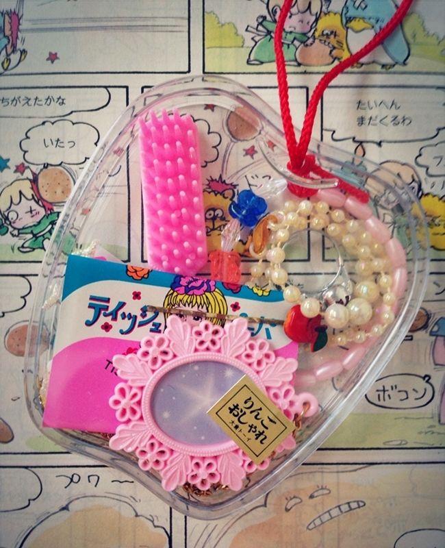 #レトロなおもちゃ #りんご #retro toy