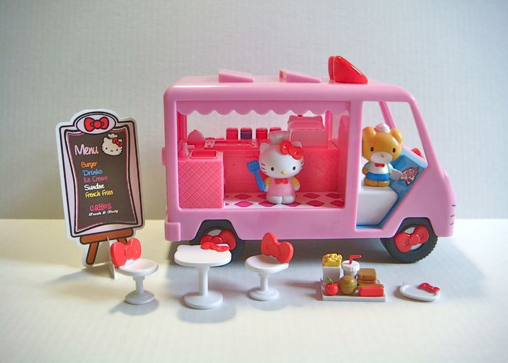 Hello Kitty Toy Food : Images about hello kitty cafe truck on pinterest