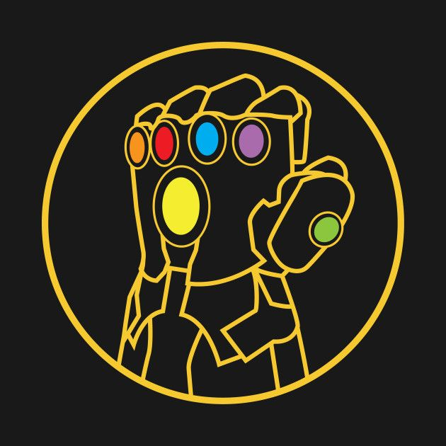 Check out this awesome 'Infinity Gauntlet' design on @TeePublic