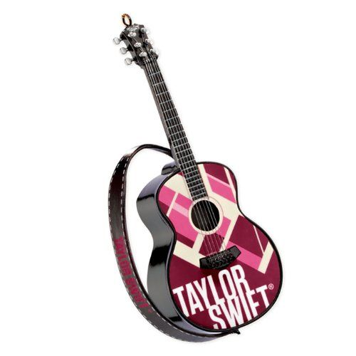 Carlton Cards Heirloom Taylor Swift Musical Guitar Christmas Ornament