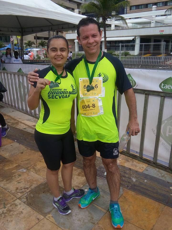 14ª Maratona de Revezamento Pão de Açúcar em 05/07/2015.  604-6 - 5k;  604-8 - 5k.