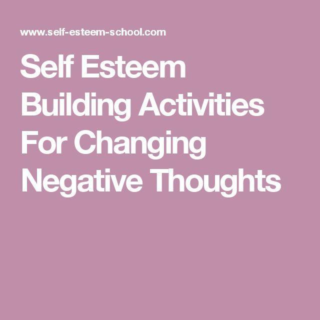self esteem activities for women pdf