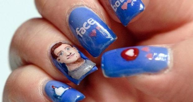 A Fan Painted Mark Zuckerberg's Face On Her Nails, And Here's What Happened Next – News From Nigerian Newspapers