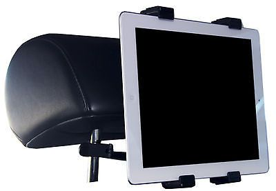 Tablet Mount for Car Headrest NEW for Ipad, Surface, Kindle, Galaxy, Nook, More! http://androidbrew.com/