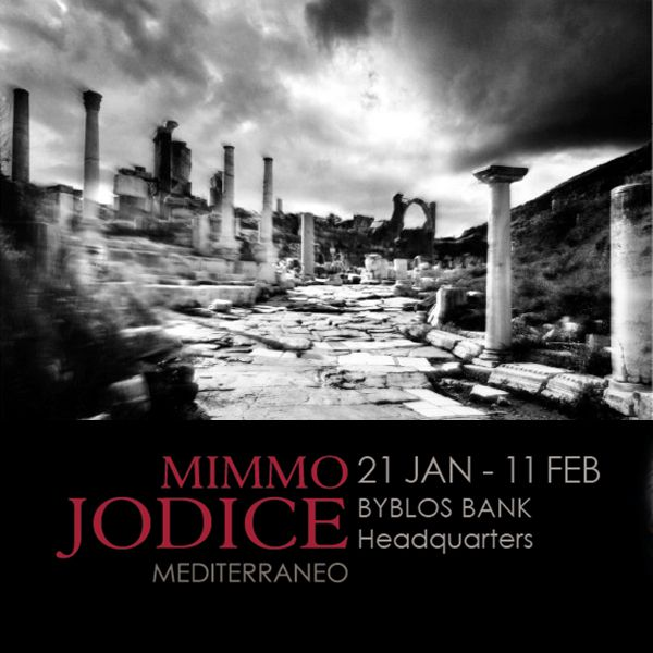 Mimmo Jodice at Byblos Bank Headquarters.
