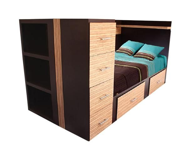 Best 25 cama cajonera ideas on pinterest camas con - Cajonera bajo cama ...