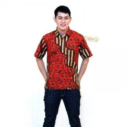eBatik Hem Batik Trusmi Katun KP (Merah)