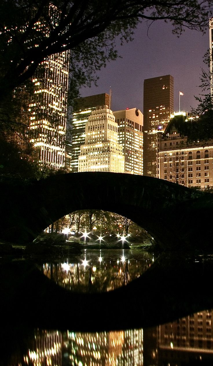 Visit Central Park at night | Tips For First-Time Travel To New York City