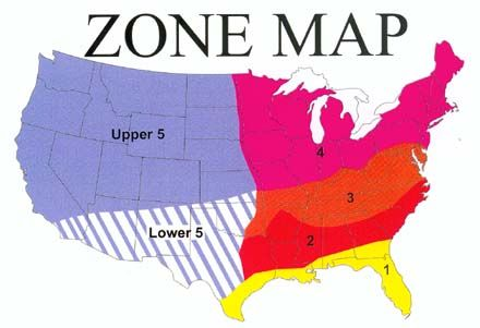 Food Plot Seed List With Planting Info|Food Plot USA Planting Zone Map