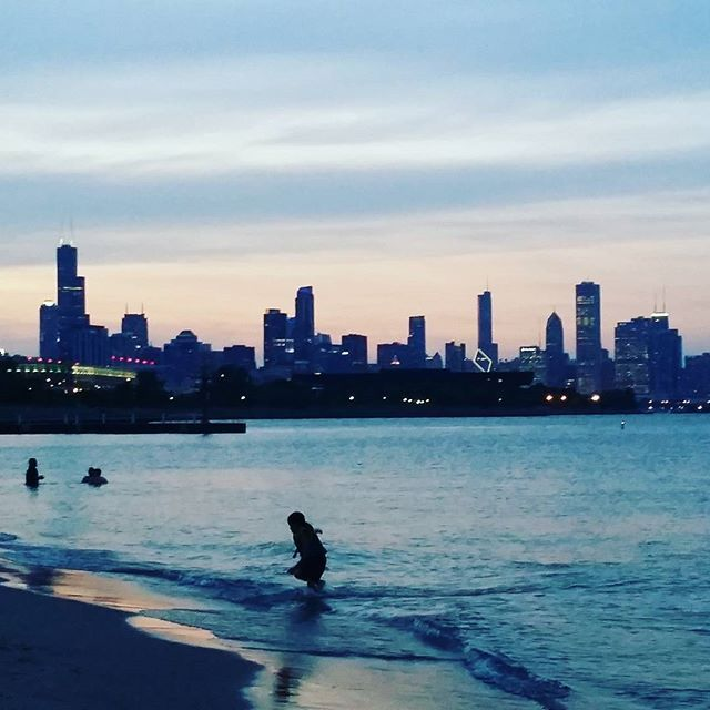 #chicagoskyline #beach #timefreedom  The8figureEarner.com