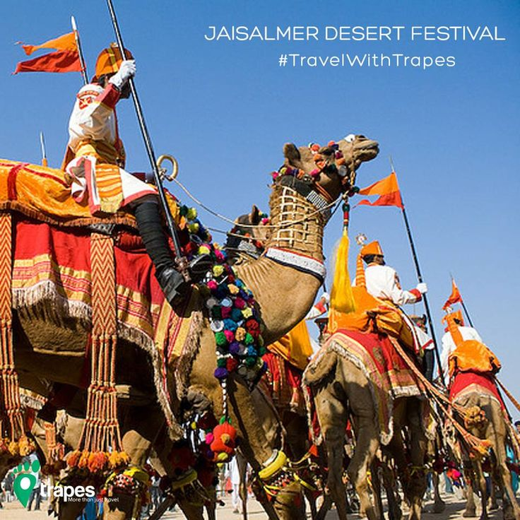 Romantic, remote and unspoiled! Be amidst the beautiful dunes of Thar Desert and enjoy the three day extravaganza of Jaisalmer Desert festival! Take a road ride to this beautiful desert city with Trapes Cab and dwell yourself into this vibrant cultural festival.  Date: 8th – 10th Feb'17 Location: Jaisalmer
