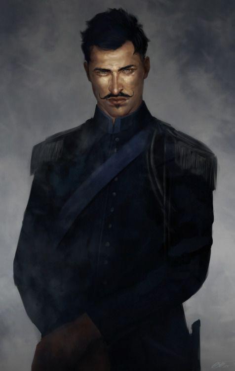 Hussar military uniform inspired Dorian