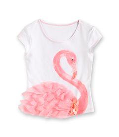 flamingo tee via Chasing Fireflies. Looks easy to sew, great little girl gift