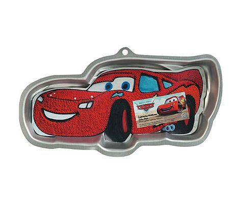 Cars Lightning McQueen Cake Pan - Party City // this is so awesome!