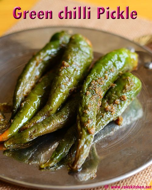 Green chilli pickle can be made at home with easily available ingredients. With coriander seeds, mustard, methi and saunf it smells great. I always wondered how will be the green chilli pickle, at times served along with bhatura could be made.