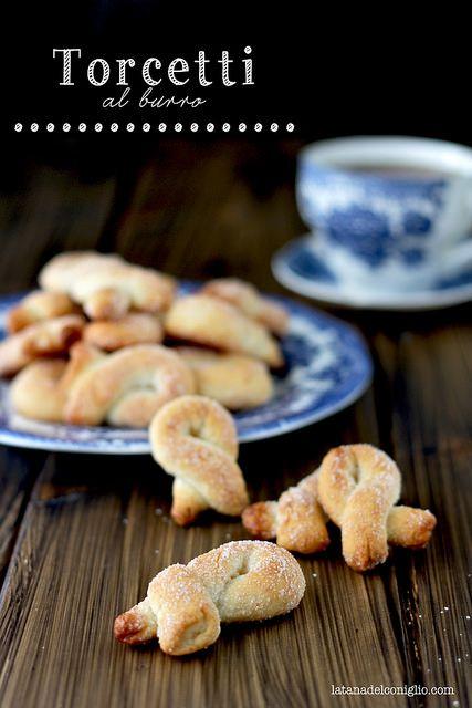 torcetti al burro - italian cookies by La tana del coniglio