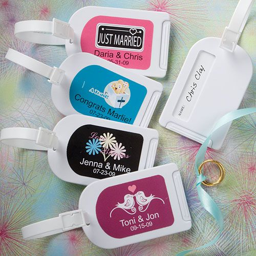 Best 25 Luggage Tags Wedding Ideas On Pinterest Custom Destination Favors And Favours