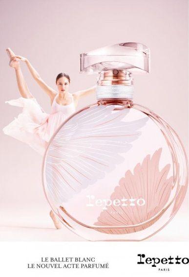 """""""Le ballet blanc"""" : Le parfum Repetto inspiré du """"Lac des Cygnes"""""""