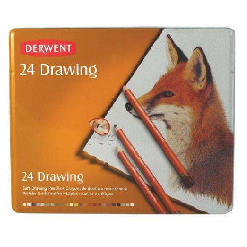 kredki artystyczne drawing, 24 szt. | Derwent