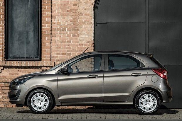 Teste Novo Ford Ka 1 0 Mantem Foco No Custo Beneficio E Promete Mais Seguranca Ford Carro Popular Rodas Aro 15