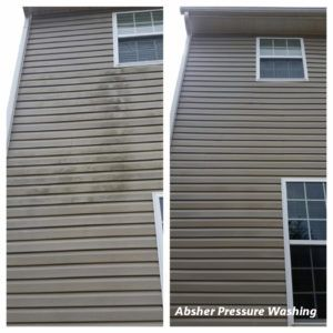 how to clean vinyl siding on a house