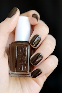 Essie Little Brown Dress: I bought this nail polish today for fall and I LOVE it! It looks so classy! - Savannah