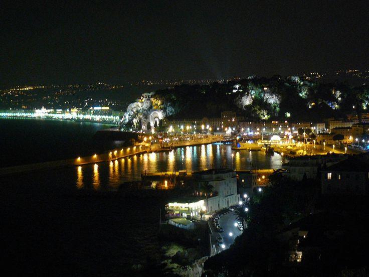 Nizza - Panorama notturno