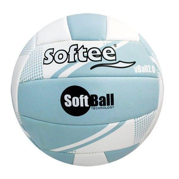 Balón de Voleibol Softee SOFTBALL VOLEIBOL 2.0 Azul/Blanco
