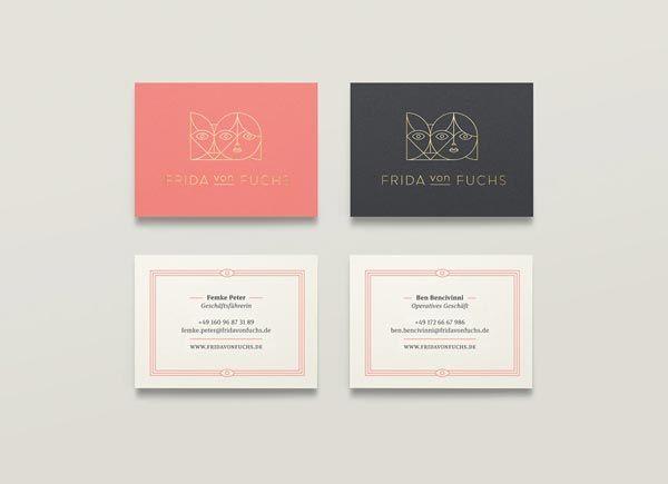 Frida von Fuchs Business Cards
