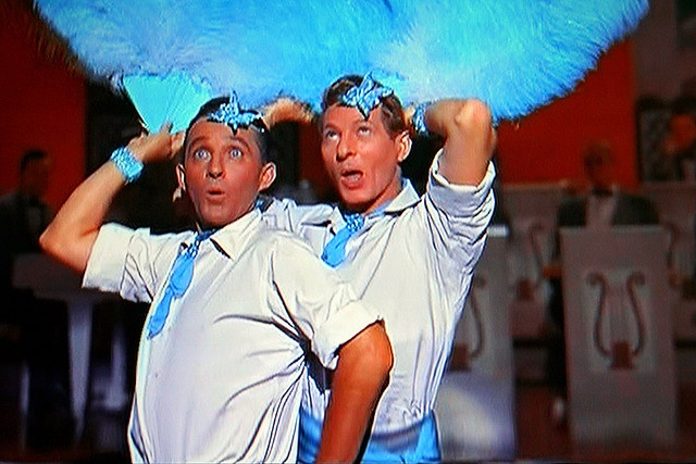 Bing Crosby, Danny Kaye in White Christmas