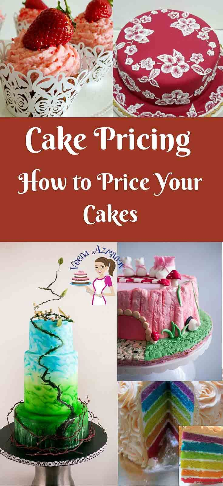 Cake Decorating Questions : Best 25+ Cake pricing ideas on Pinterest Cake servings ...