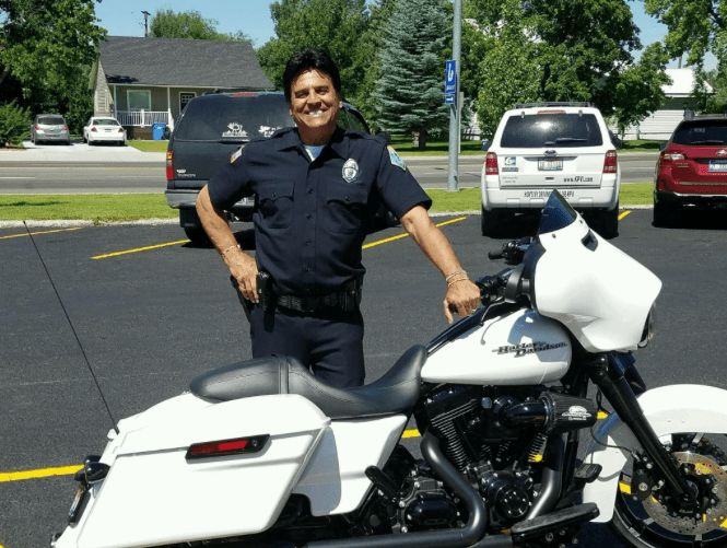 """Erik Estrada doesn't just playa police officer on television, the actor from """"CHiPs"""" fame was sworn in as a reserve police officer in St. Anthony, Idaho, on July 2, with a focus on protecting children from online predators.  In 2000, Estrada was named the international """"Face"""" ofD.A.R.E.which is a campaign against drugs. He also"""