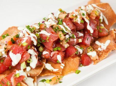Hyatt chef shares tuna poke nachos recipe