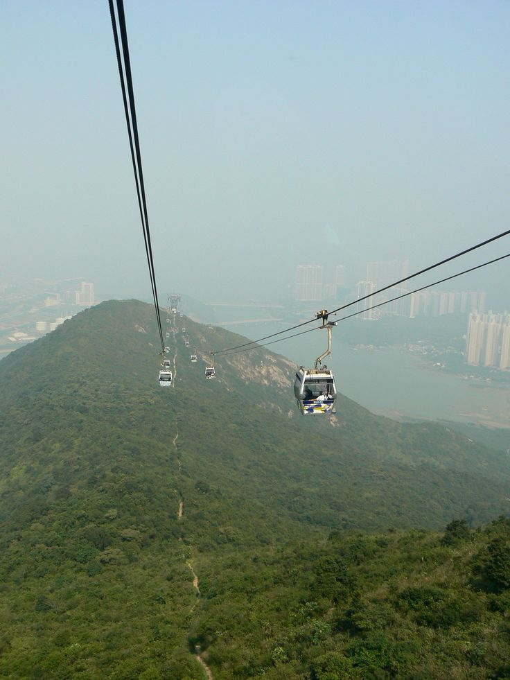 The cable car ride to Ngong Ping 360 (Po Lin Monastery and the Big Buddha) is very scenic...