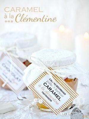Cadeaux gourmands - Sauce caramel à la clémentine