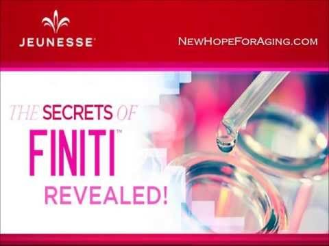 The Secret of Reversing Aging with Finiti - Part 1 - YouTube www.PeggyPippalBonner.com