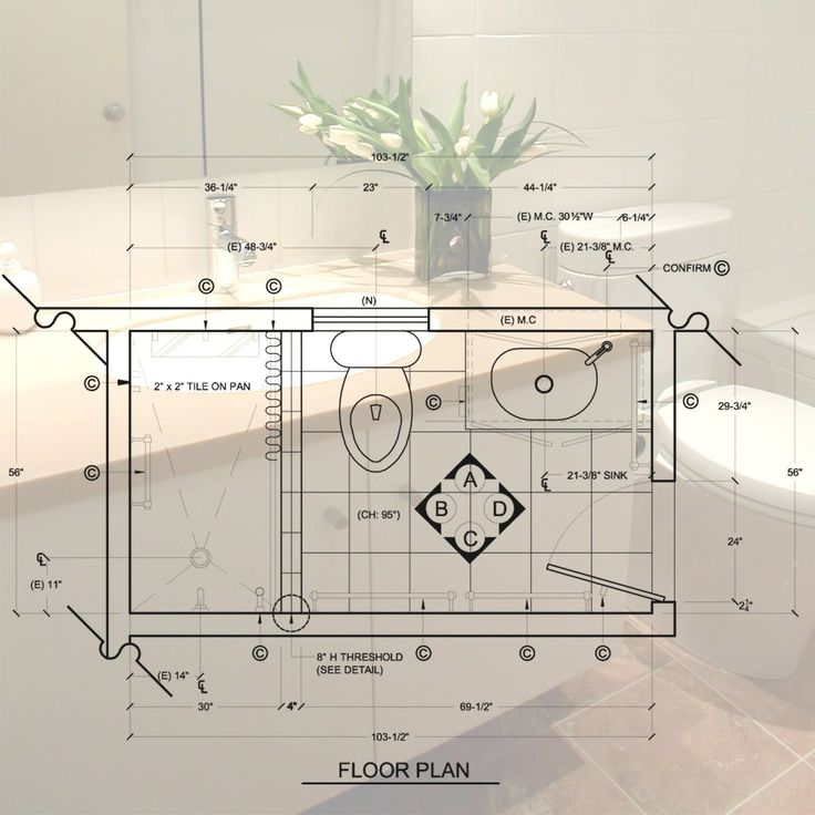Bathroom Floor Plans, Bathroom Layout и Small Bathroom Layout