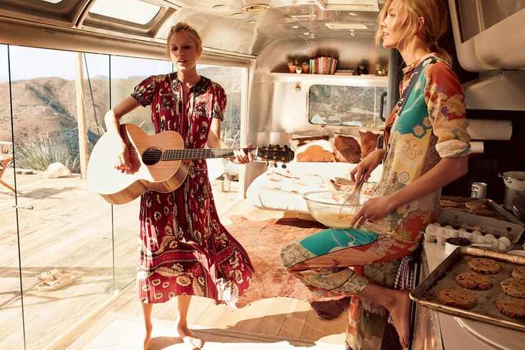 Taylor Swift in Valentino, Karlie Kloss in Gucci for Vogue US March 2015 by Mikael Jansson