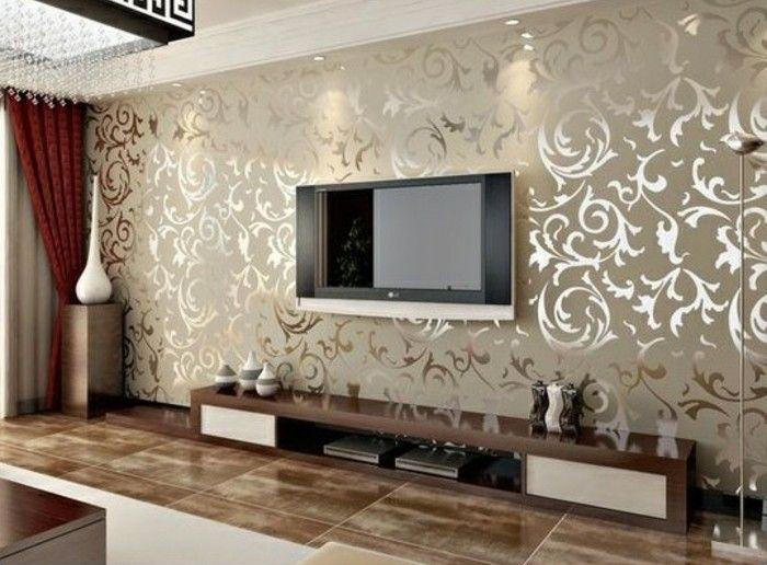 Nett Tapeten Ideen Tapeten Wohnzimmer Modern Tapeten
