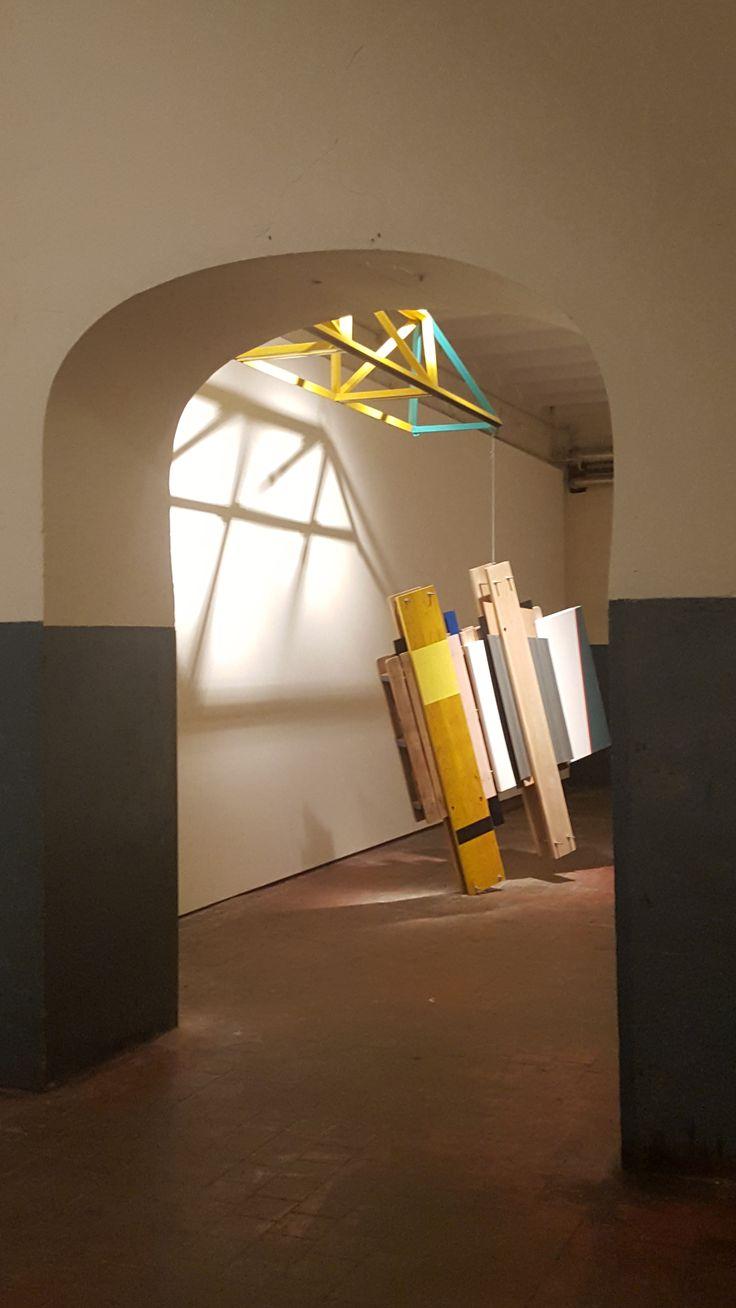 "FOD (Francisco Olivares Díaz) #Exposición ""Strûts"" en la Fragua de #ArteTabacalera #PromociónDelArte #Madrid #Arte #Art #ContemporaryArt #ArteContemporáneo #Arterecord 2016 https://twitter.com/arterecord"