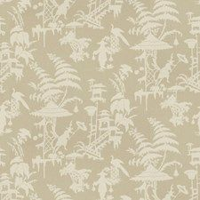 Parchment Asian Drapery and Upholstery Fabric by Kravet