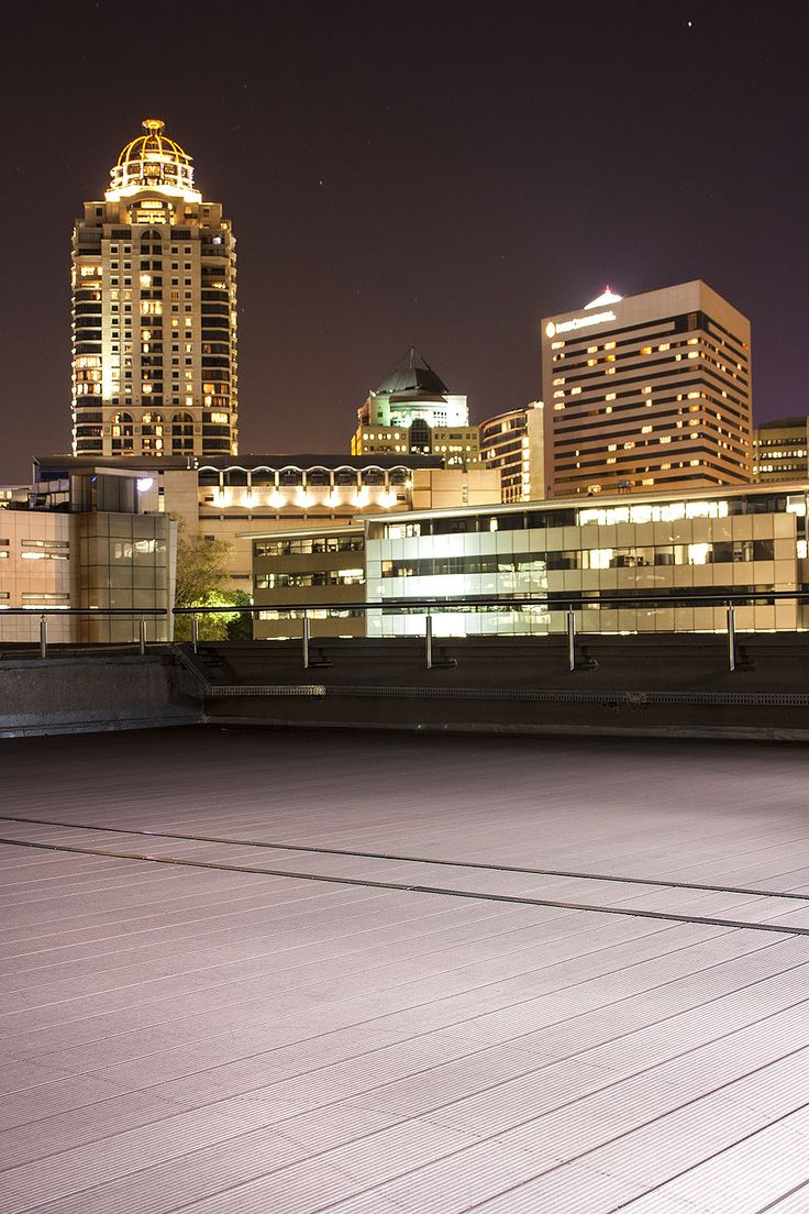 Rooftop Eva-tech deck on Fredman drive in Sandton City. http://www.eva-tech.com/en/