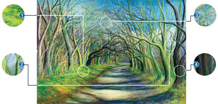 Ken Bromley Art Supplies - Pastel Pencils