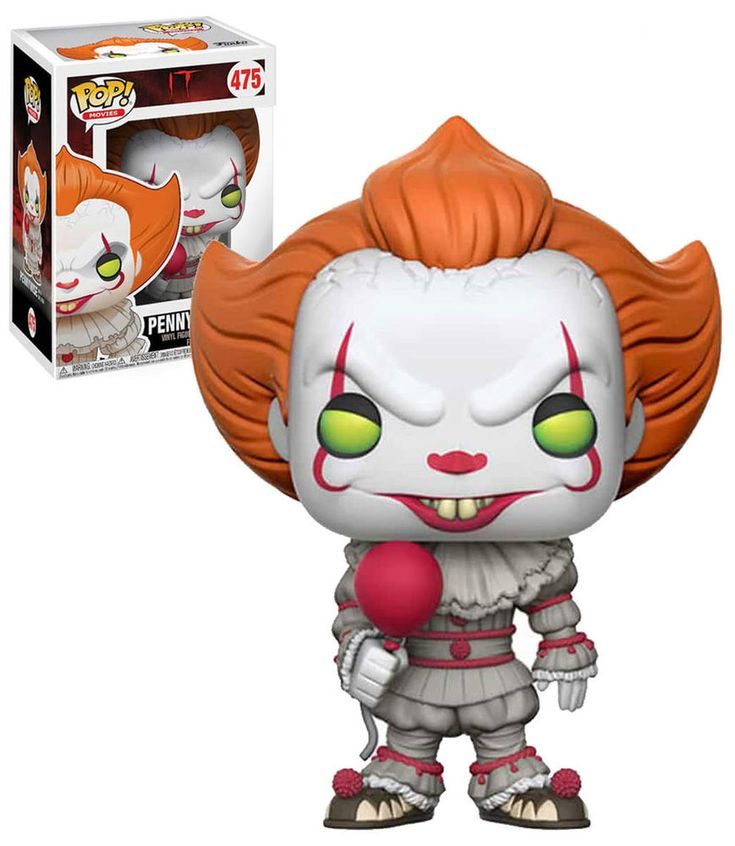 Funko POP! Movies 'It' (2017) #475 Pennywise With Balloon - New, Mint Condition.  https://www.ebay.com.au/itm/332584567298 OR https://www.supportivepc.com  #Funko #FunkoPop #It #Pennywise #Horror #StephenKing #Collectibles