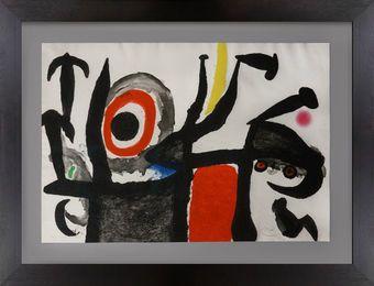 Manoletina, 1969, Джоан Миро