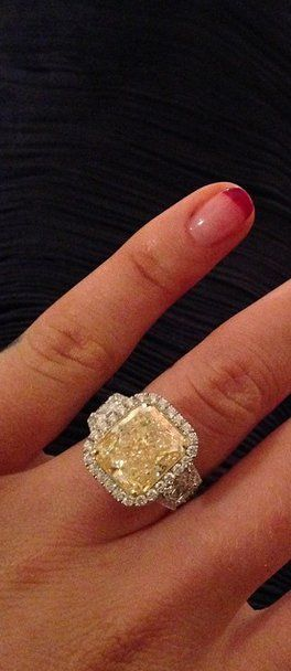 Pin for Later: We Bet Iggy Azalea Didn't Expect an Engagement Ring THIS Fancy