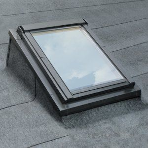 The FAKRO EFW flat roof system makes it possible to install windows on flat or very low-pitched roofs. This is the FAKRO EFW flat roof kerb and prices start at £189.00.