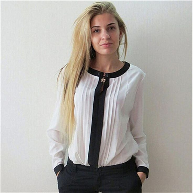 Cheap blouses clothing, Buy Quality blouse blouses directly from China blouse shirt Suppliers: 2017 New Women Blouses Fashion Elegent V-Neck Chiffon  Long Sleeve  Shirt Casual Blouse Female Clothing