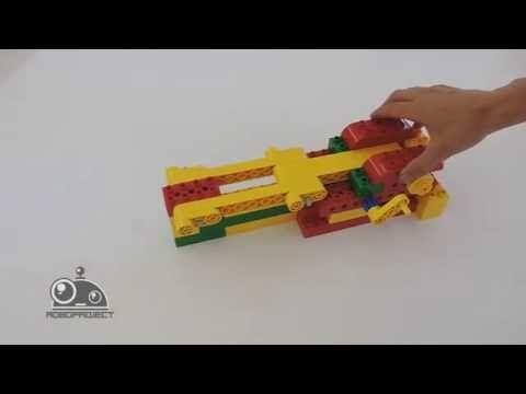 Лего Первые механизмы - Машина - автопогрузчик - YouTube